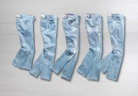 Spijkerbroeken uit de voorjaarscollectie 2010