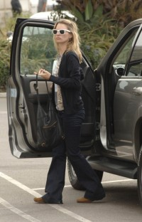 Celebrities in denim: Kate Moss in J Brand